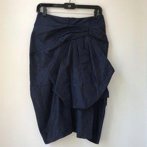 NEW Marc Jacobs Navy Blue Ruffle Skirt Size 0